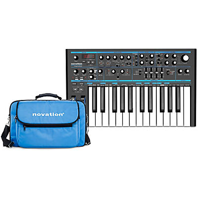 Novation Bass Station II Analog Synthesizer with Gig Bag