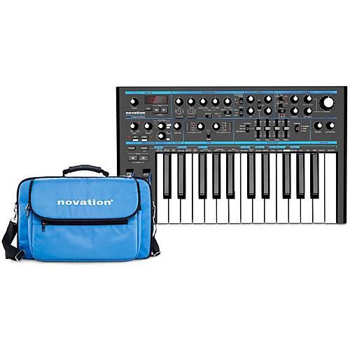 Novation Bass Station II Analog Synthesizer with Gig Bag