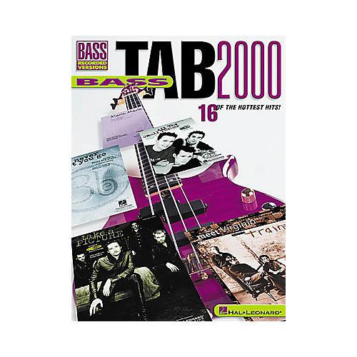 Hal Leonard Bass Tab 2000 Book