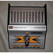 Whirlwind Bass Ten FXEQ10PB Pedal