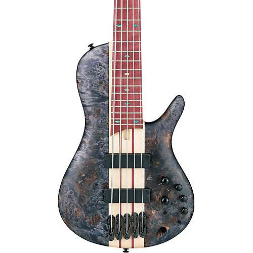 Ibanez Bass Workshop SR Cerro Singlecut 5-String Electric Bass Deep Twilight Flat