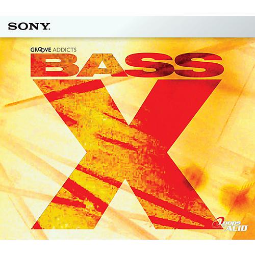 Sony Bass X ACID Loop CD