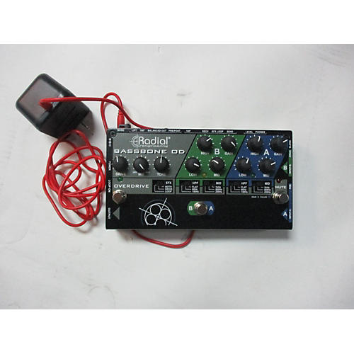 Bassbone Od Bass Effect Pedal