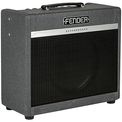 fender bassbreaker 15w 1x12 tube guitar combo amp musician 39 s friend. Black Bedroom Furniture Sets. Home Design Ideas
