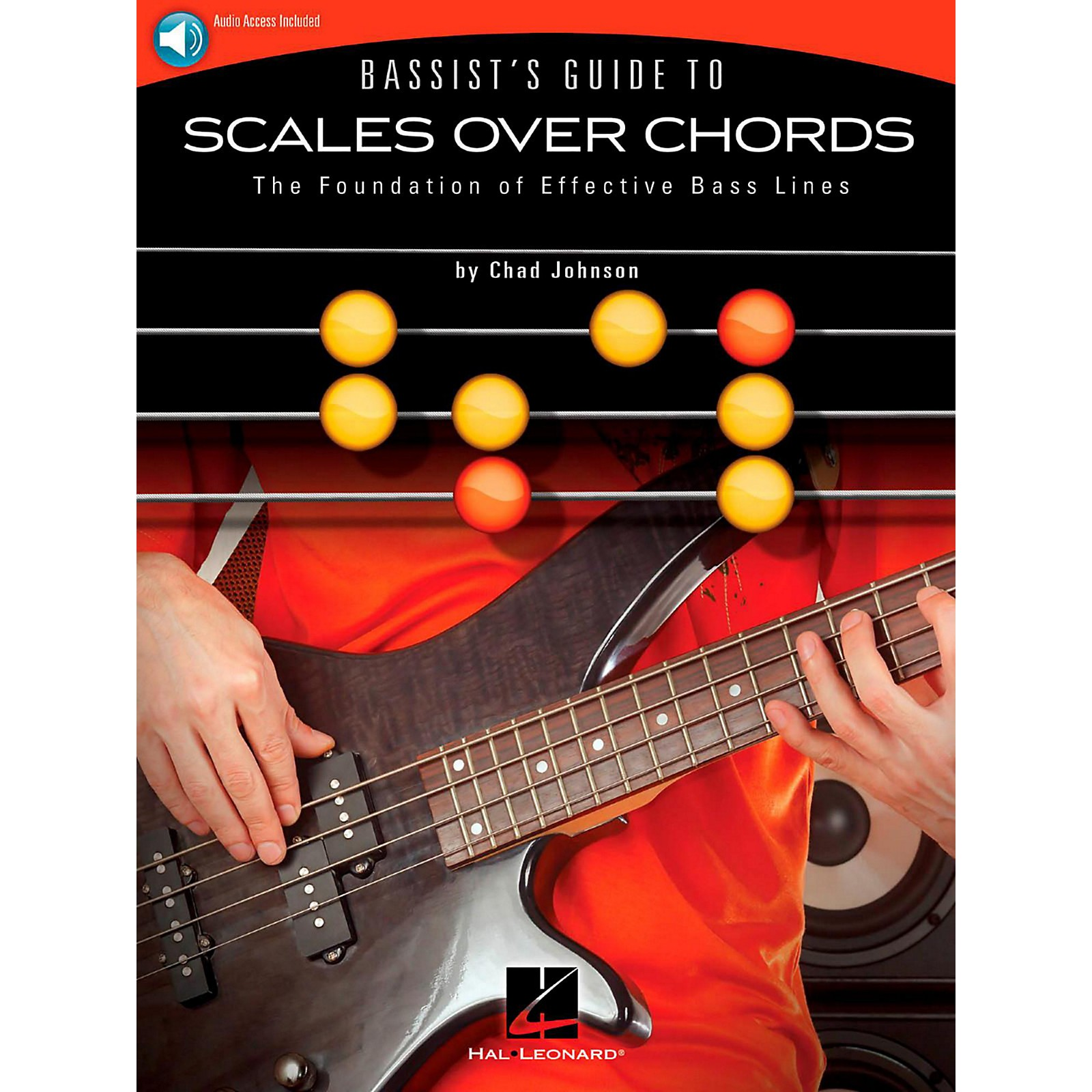 Hal Leonard Bassist's Guide to Scales Over Chords - The Foundation of Effective Bass Lines Book/Audio Online