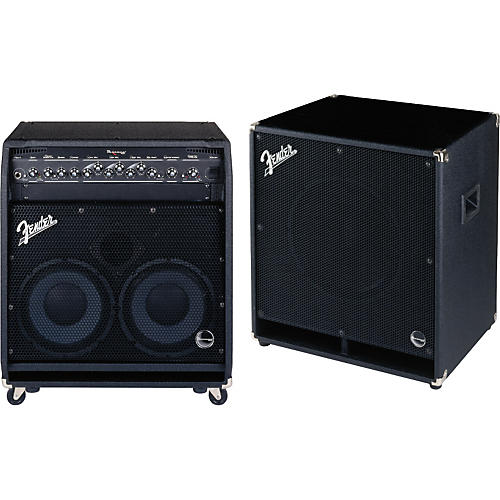 Fender Bassman 400 with Bassman 115H Full Stack Package