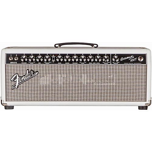 Fender Bassman Pro 100T 100W Tube Bass Amp Head Super White