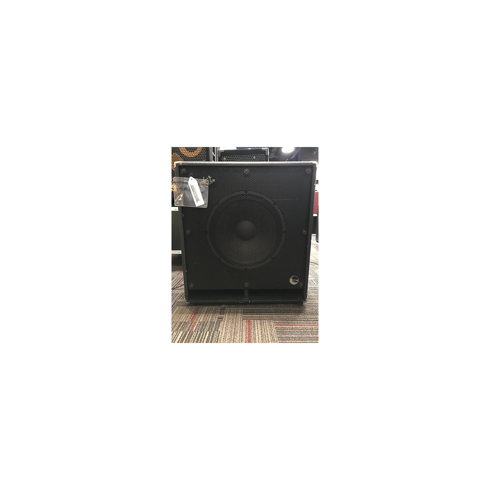 Fender Bassman Pro 115 1x15 Bass Cabinet