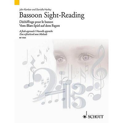 Schott Bassoon Sight-Reading (A Fresh Approach) Woodwind Series Softcover Written by John Kember