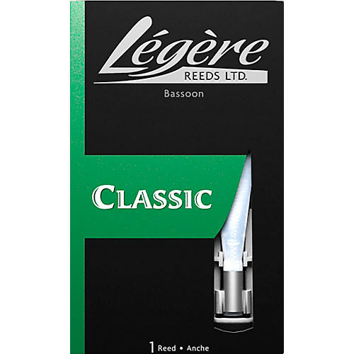Legere Reeds Bassoon Synthetic Reed Medium