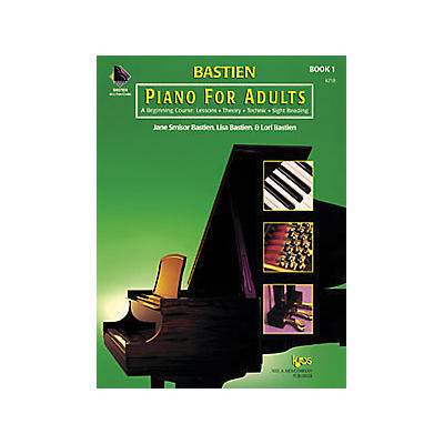 KJOS Bastien Piano for Adults Book 1