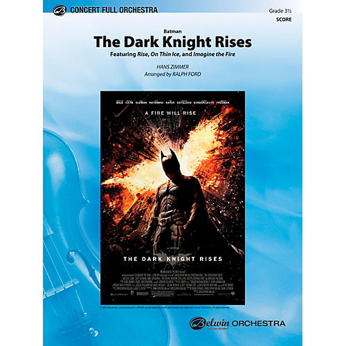 Alfred Batman: The Dark Knight Rises Concert Full Orchestra Grade 3.5 Set