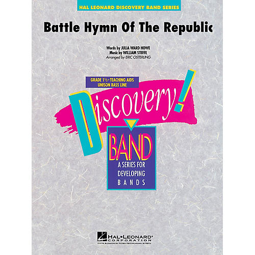 Hal Leonard Battle Hymn of the Republic Concert Band Level 1.5 Arranged by Eric Osterling