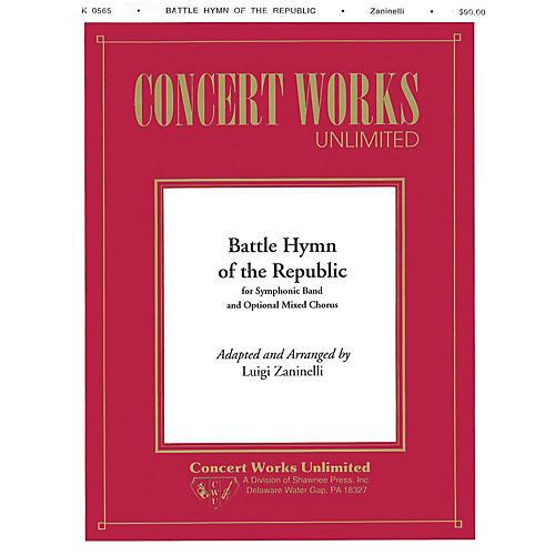 Hal Leonard Battle Hymn of the Republic Concert Band Level 4 Arranged by Luigi Zaninelli