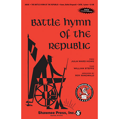 Shawnee Press Battle Hymn of the Republic SAB Arranged by Roy Ringwald