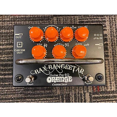 Orange Amplifiers Bax Bangeetar Pedal