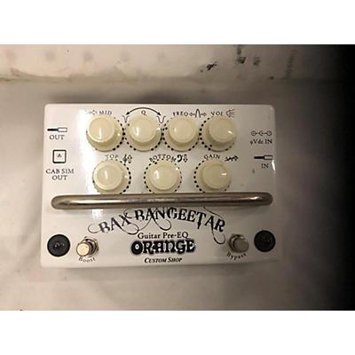 Orange Amplifiers Bax Bangeetar Pedal