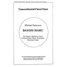 Transcontinental Music Bayom Hahu And Music For Meditation Before The Kaddish SATB composed by Michael Isaacson