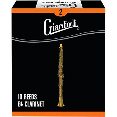 Giardinelli Bb Clarinet Reed 10-Pack