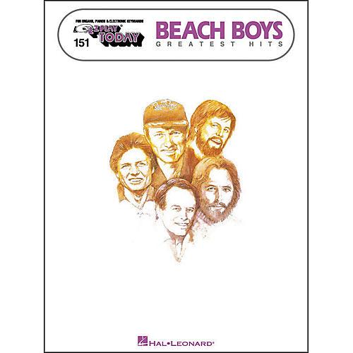 Hal Leonard Beach Boys Greatest Hits E-Z Play 151