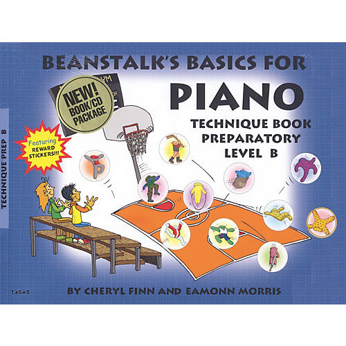 Willis Music Beanstalk's Basics for Piano - Technique Books Willis Series Softcover with CD Written by Cheryl Finn