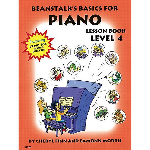 Willis Music Beanstalk's Basics for Piano (Lesson Book Book 4) Willis Series Written by Cheryl Finn