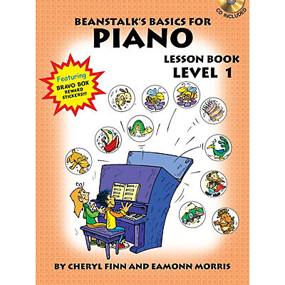 Willis Music Beanstalk's Basics for Piano (Lesson Book Level 1) Willis Series Softcover with CD Written by Cheryl Finn