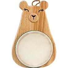 Green Tones Bear Drum