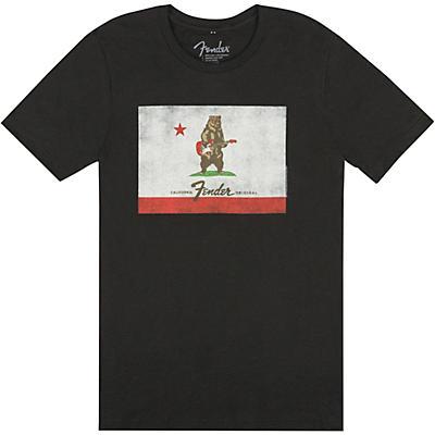 Fender Bear Flag T-Shirt - Black