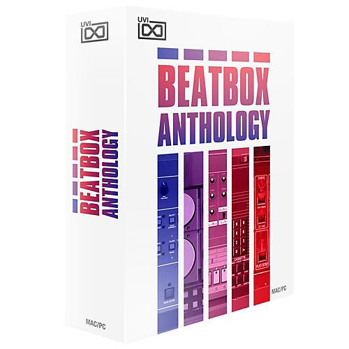 UVI Beat Box Anthology Retro Drum Machines Software Download