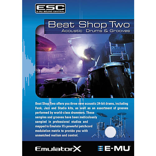 E-mu Beat Shop Two Sample CD-ROM