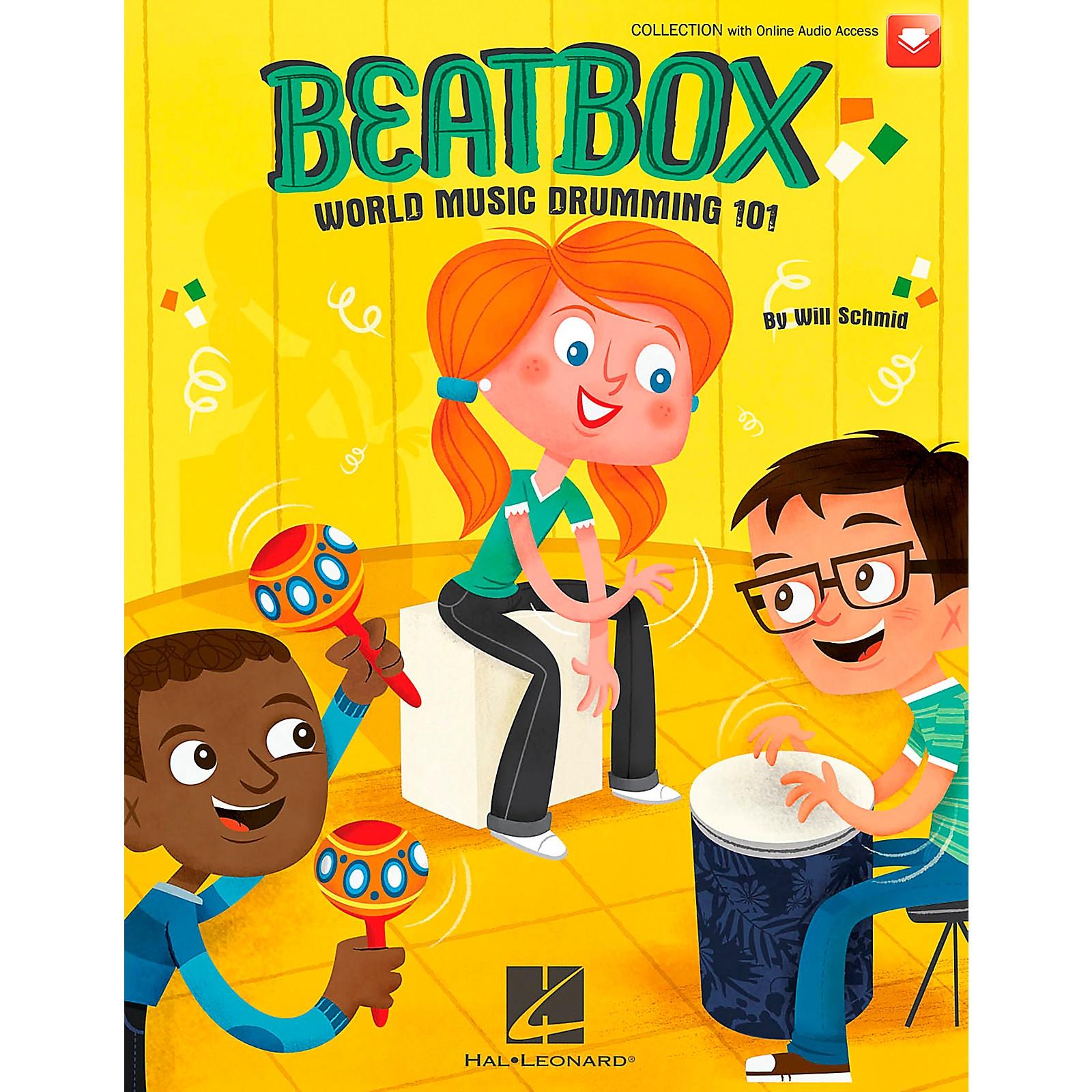 Hal Leonard BeatBox: World Music Drumming 101 (Book/CD)