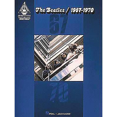 Hal Leonard Beatles 1967-1970 Book