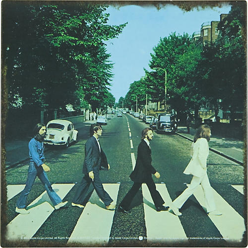 Gear One Beatles Abbey Road Metal Sign