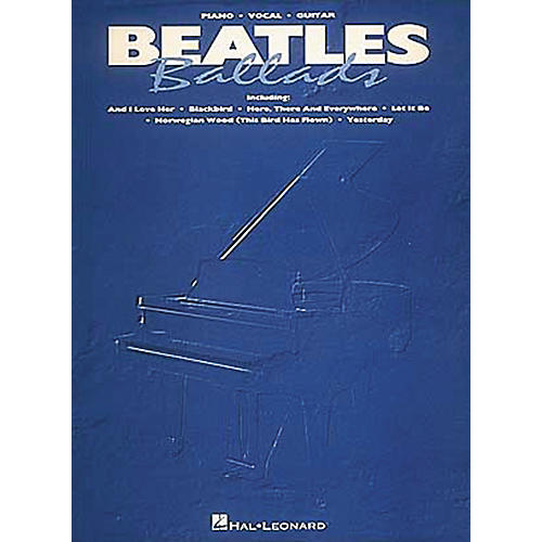 Hal Leonard Beatles Ballads Piano, Vocal, Guitar Songbook