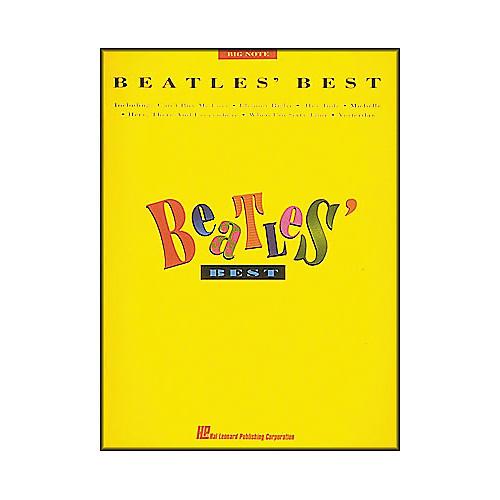 Hal Leonard Beatles' Best for Big Note Piano