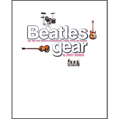 Backbeat Books Beatles Gear - Softcover Book