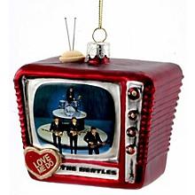 """Kurt S. Adler Beatles """"Love Me Do"""" Glass TV Ornament"""