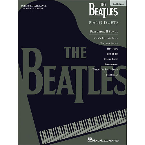 Hal Leonard Beatles Piano Duets 2nd Edition