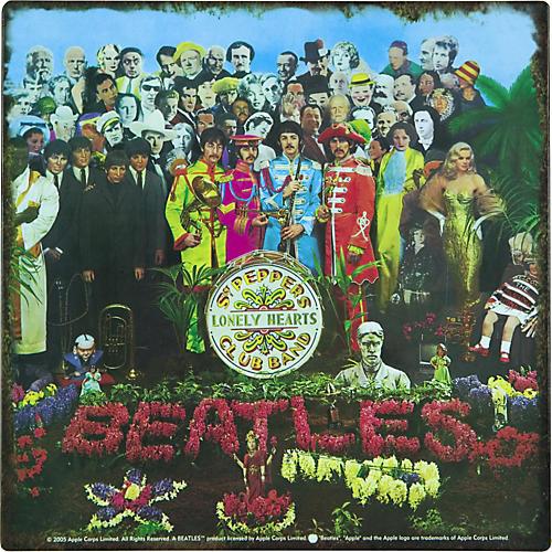 Gear One Beatles Sergeant Pepper Metal Sign