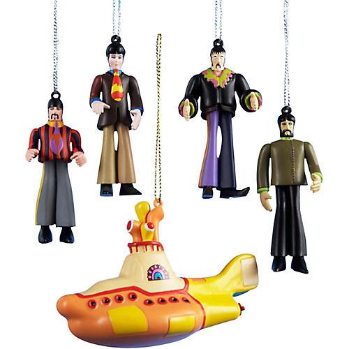 Beatles Yellow Submarine 5-Piece Ornament Gift Box