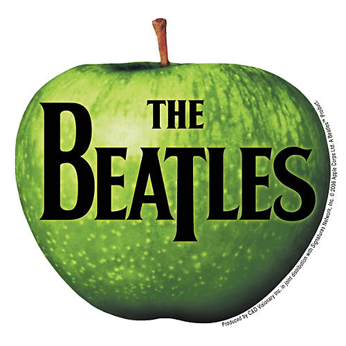 C&D Visionary Beatles apple Sticker