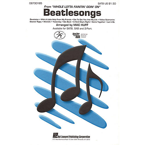 Hal Leonard Beatlesongs (Medley) ShowTrax CD Arranged by Mac Huff