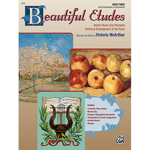 Alfred Beautiful Etudes Book 3
