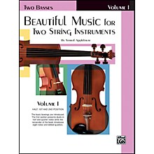 Alfred Beautiful Music for Two String Instruments Book I 2 Basses