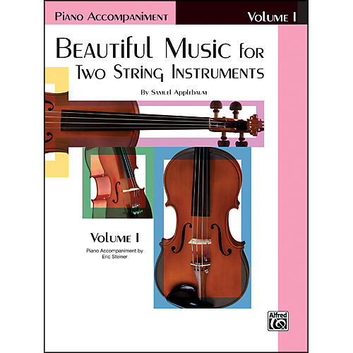 Alfred Beautiful Music for Two String Instruments Book I Piano Acc.