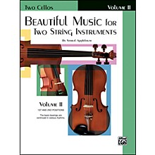 Alfred Beautiful Music for Two String Instruments Book II 2 Cellos
