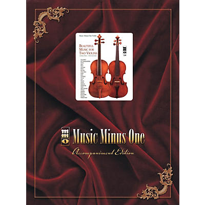 Music Minus One Beautiful Music for Two Violins (Volume III: 3rd Position) Music Minus One Series Softcover with CD
