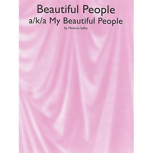 Music Sales Beautiful People Music Sales America Series Performed by Melanie Safka