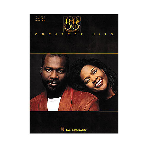 Hal Leonard Bebe & Cece Winans Greatest Hits Piano, Vocal, Guitar Songbook